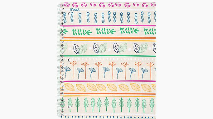 Mead Botanical Boutique Notebook  (07154)