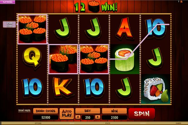 The So Much Sushi slot is Microgaming's latest addition to the world of online gaming. This is a 5-reel, 25 payline slot that is a part of the So Much More series.