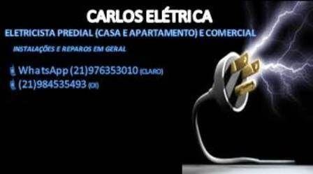 Eletricista residencial e predial. Instalação e reparo. 984535493(Oi) 976353010(claro)what