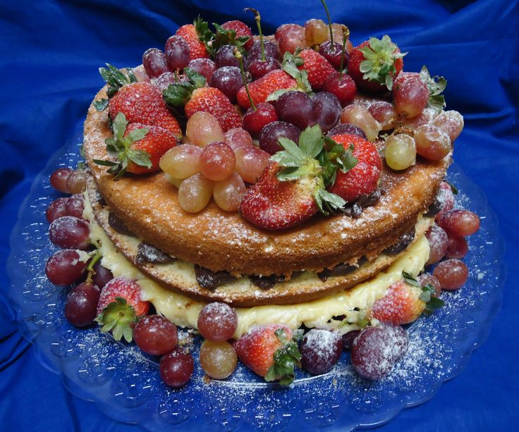 17 mejores ideas sobre bolo decorado com frutas en pinterest ...