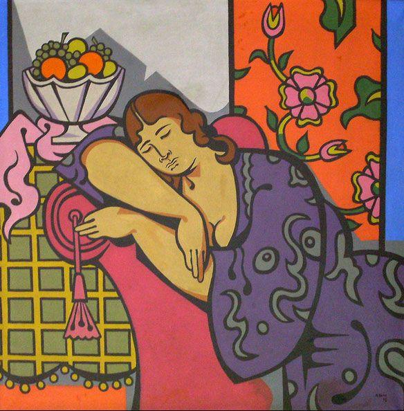Nurullah Berk. 1904-1982 Turkish painter