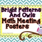 In this set you will receive everything you will need to create a Math Meeting board in your classroom. The posters in this set are aligned to the ...