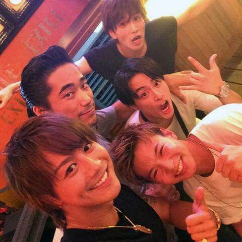 Iwata Takanori & Naoki & Taiki & Alan & Takahiro