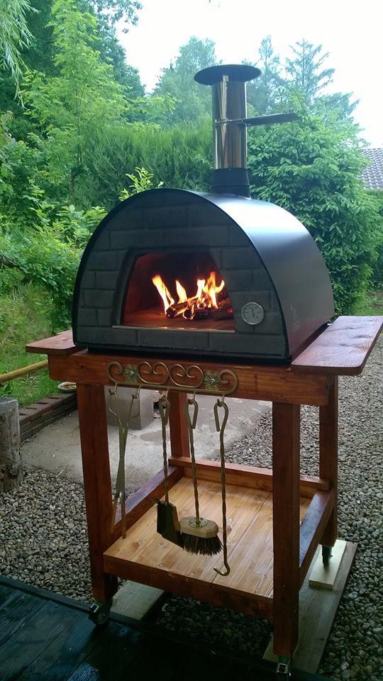 pingl par my sur barbecue en brique et. Black Bedroom Furniture Sets. Home Design Ideas