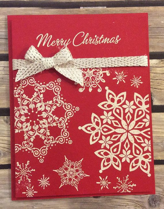 Christmas Snowflakes Christmas Card Ideas Pinterest Christmas
