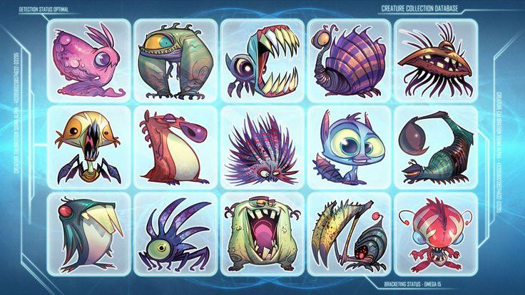 Creature Collection by CreatureBox on deviantART