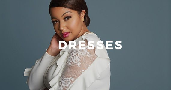 Plus Size Dresses: Cocktail, Formal, Wedding, Work Dresss, Sexy Night Out Dresses | Fashion To Figure
