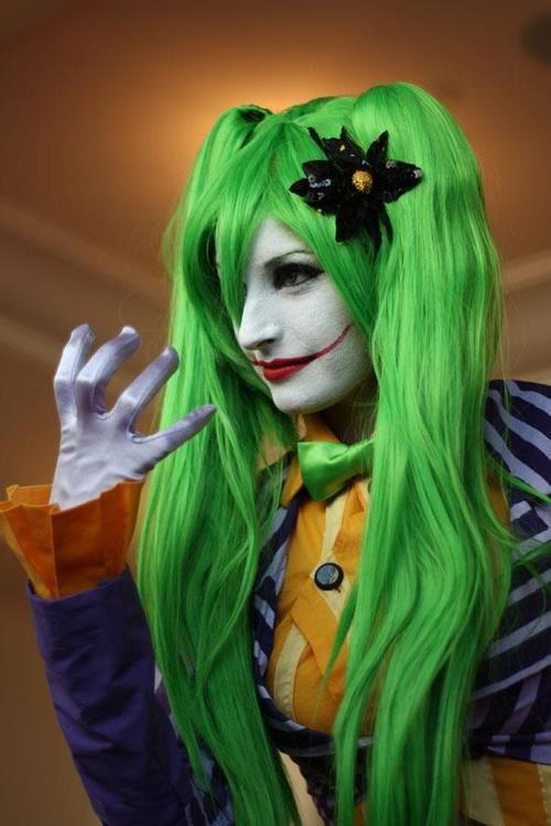 crazier than usual katsucon 2012 female joker by slarenkou on deviantart - Joker Halloween Costume For Females
