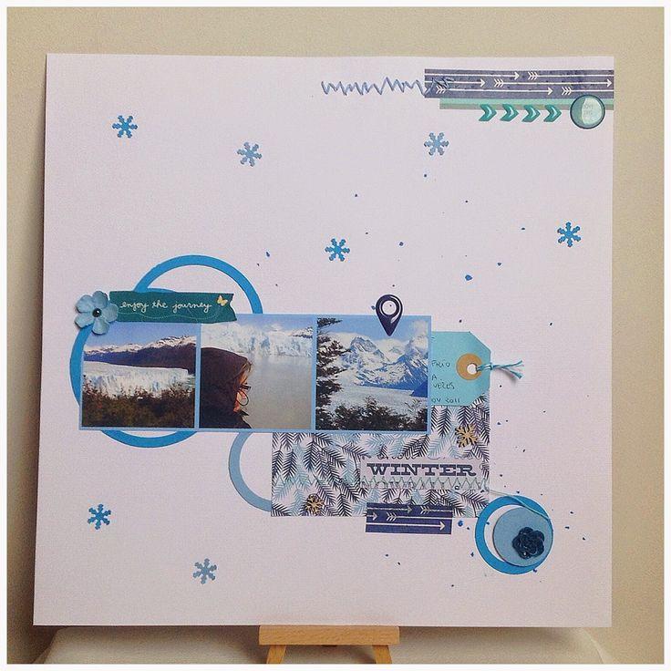 LO Lo mejor del frío por Scraperalimonera #scrapbooking #challenge #madscraproject #layout