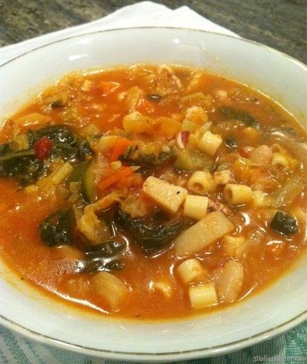 Best 25+ Italian Minestrone Soup Recipe Ideas On Pinterest