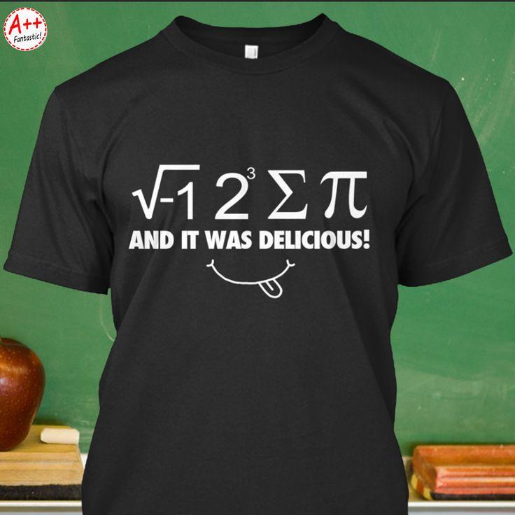 "Limited Edition ""i-8-sum-pi"" t-shirts, and coffee/tea mugs. Get yours here: www.PidayShirt.com/ffmai"