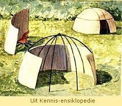 Grasmat-huise van die Khoikhoi