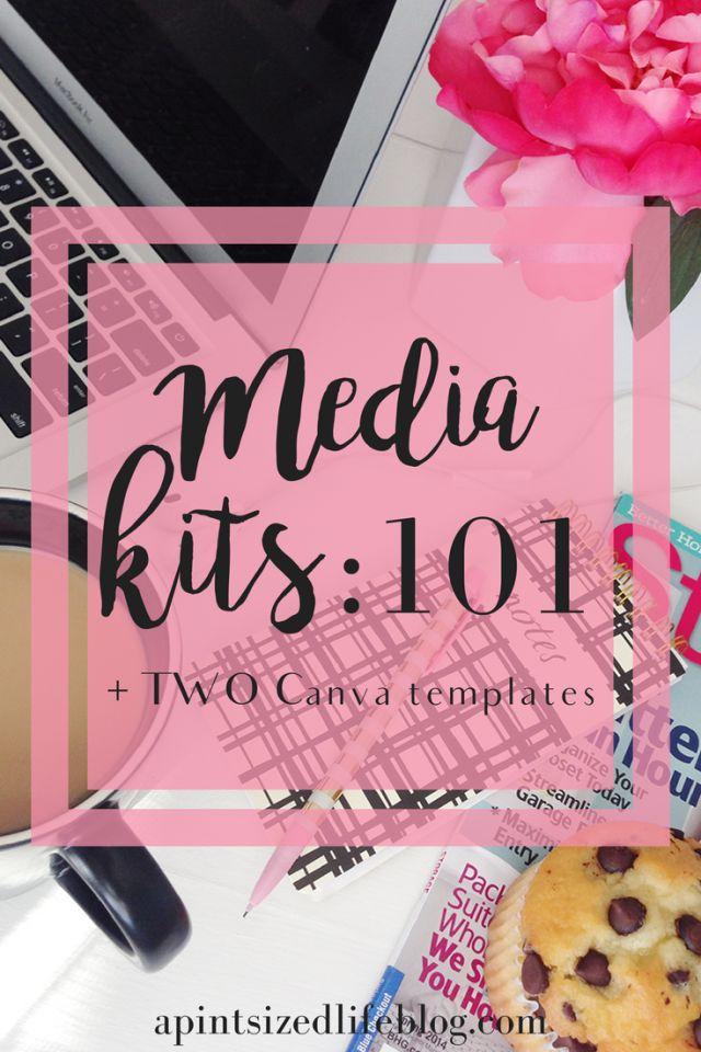 Media Kits: 101 + TWO Canva templates
