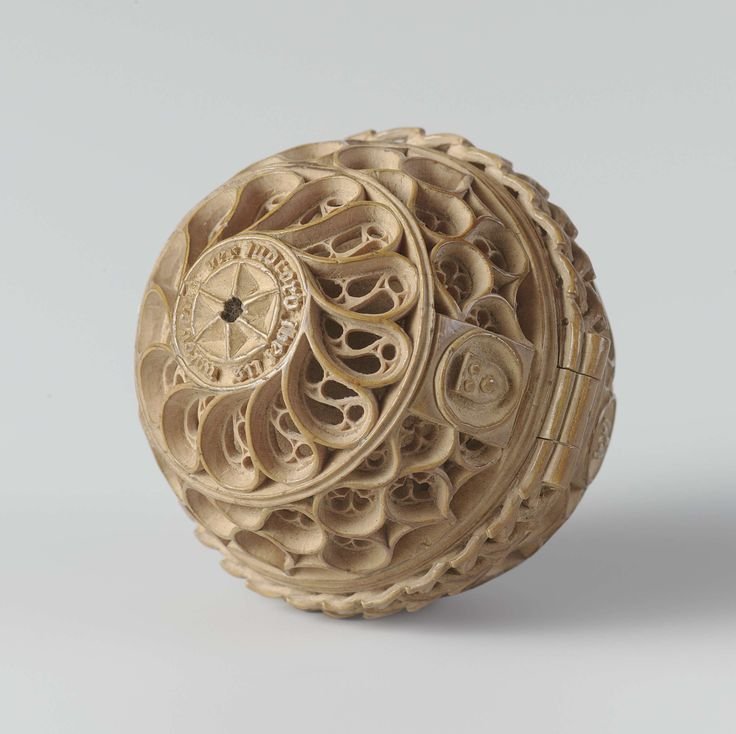 """""""I'm always reaching into my pocket to check my phone"""" - Prayer nut with case, attributed to Adam Theodrici, c. 1500 - c. 1525"""
