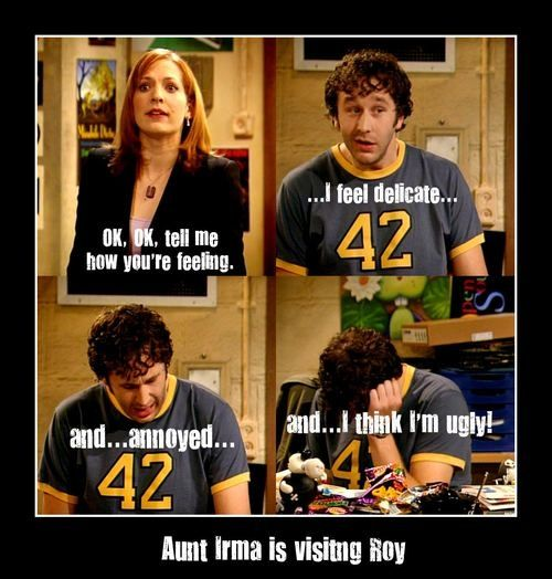 Aunt Irma the it crowd