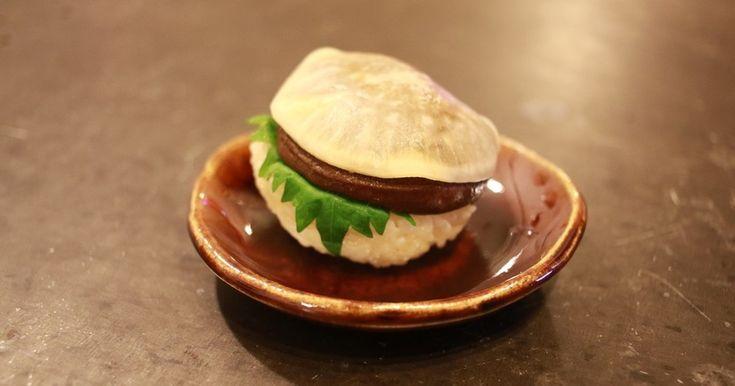 干し椎茸がとっても美味しい寿司ネタになりますよ♪
