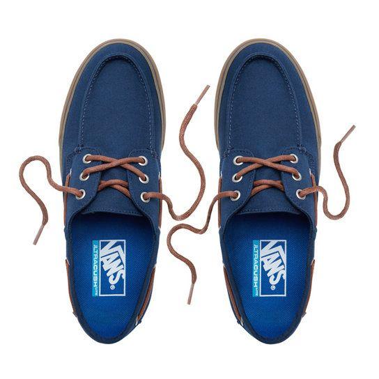 Scarpe Chauffeur   Vans, Dress Blues-Gum, Modello: VA3MUBFS1 #vans ...