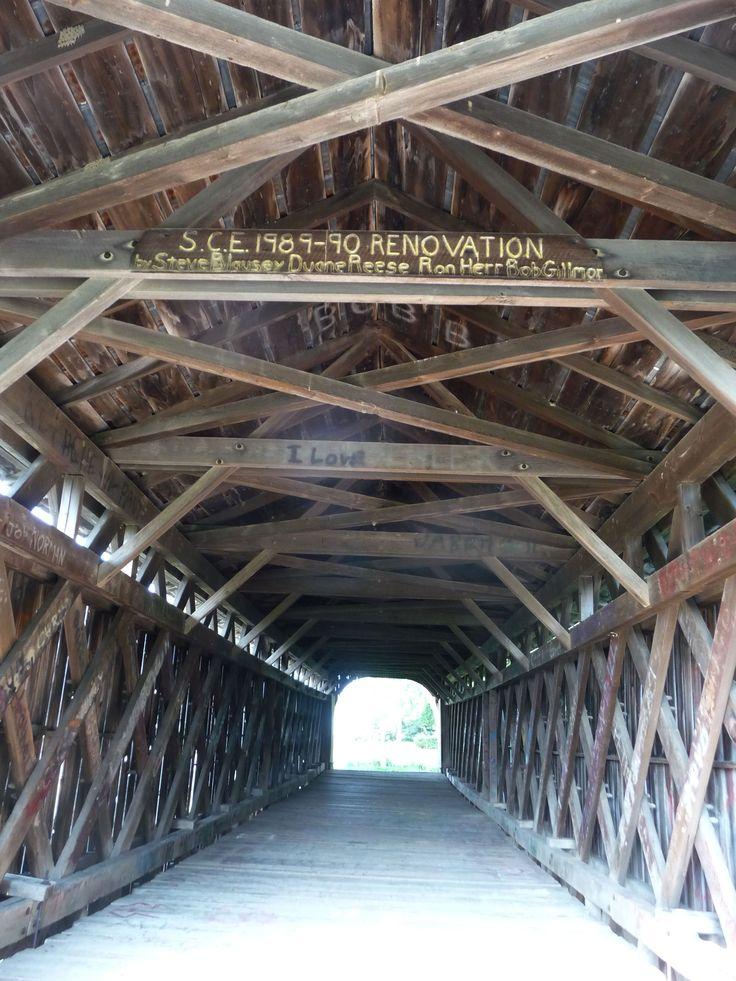 Metal Covered Bridges : Best covered bridges images on pinterest