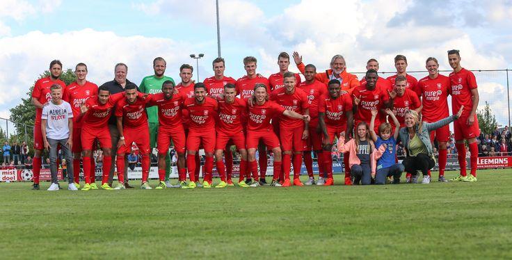 De wedstrijd tegen FC Nordsjælland was de allereerste wedstrijd in het nieuwe Pure Energie shirt! In Mariënberg waren wij er bij om deze wedstrijd te kijken!
