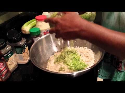 Auntie Fee's Chicken Salad - YouTube