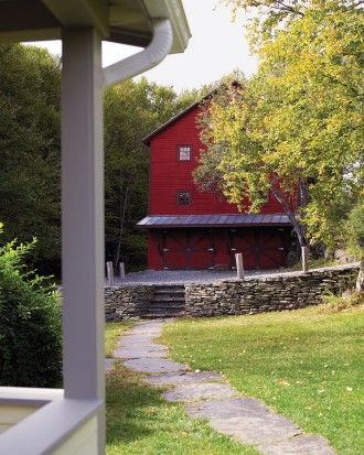 """See the """"After: Barn"""" in our Home Tour: Farmhouse Renovation gallery"""