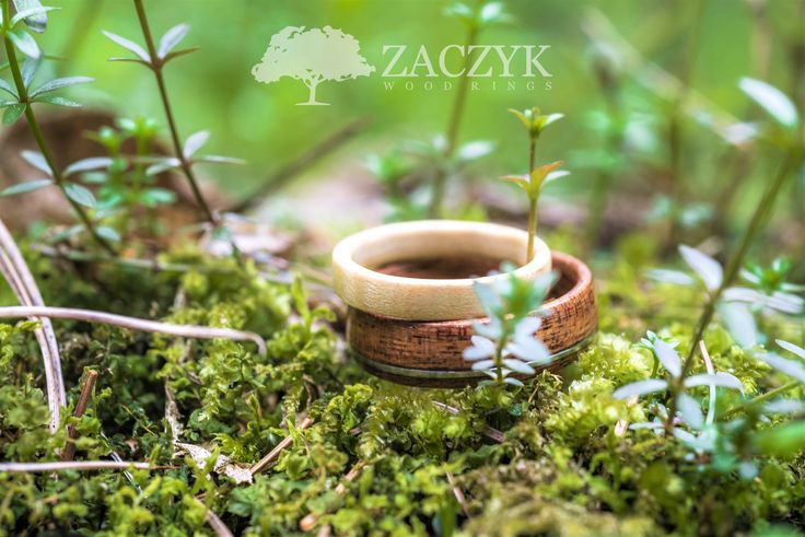 Weddings wood rings