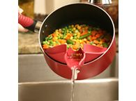 dripless strainer spout