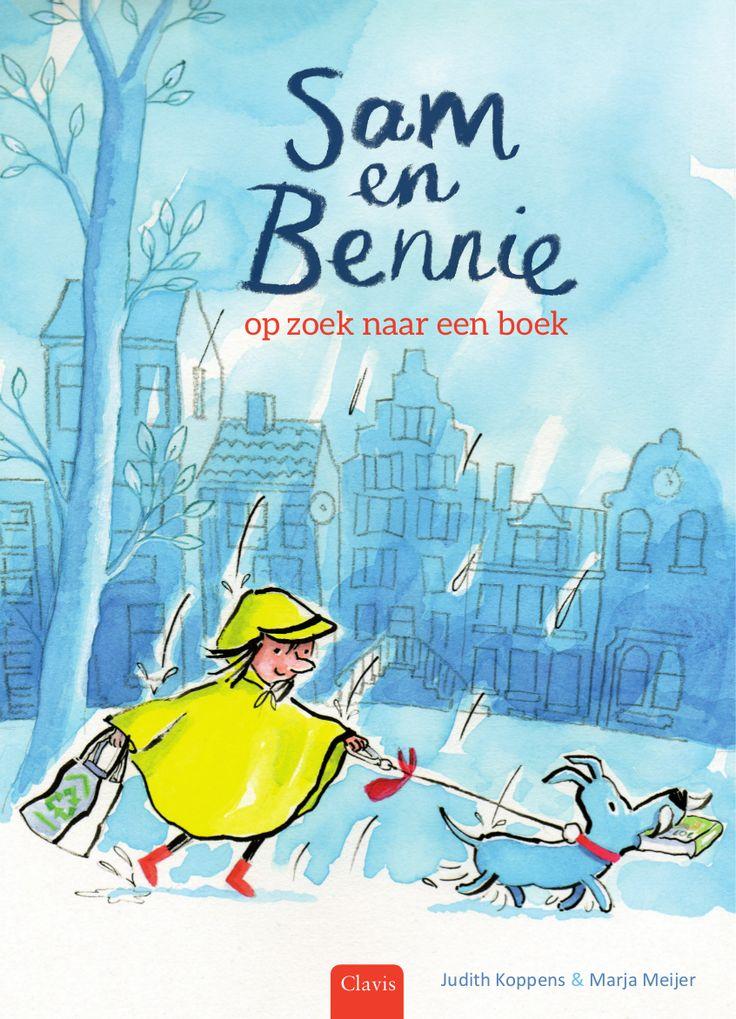Sam en Bennie, op zoek naar een boek is een leuk prentenboek over een meisje dat een boek gaat zoeken voor haar hond. Lezen is immers voor iedereen leuk!