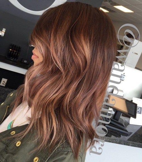 Rosewood Hair With Highlights...sassy auburn
