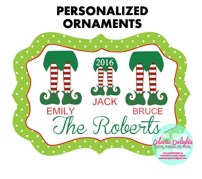 A personal favorite from my Etsy shop https://www.etsy.com/ca/listing/458677686/personalized-ornaments-custom-ornaments