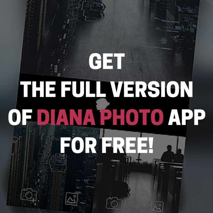 Surprise, surprise! On my #Instagram (@thedianasblog) profile you will find the tip how to get the full version of #DianaPhotoApp totally for free! <3