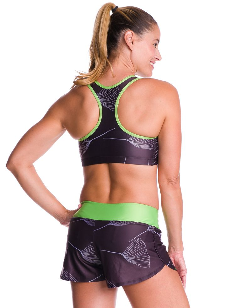 Women's Running Shorts in Gingko Design The Run Shorts from Coeur are designed to perform. We took input from our team of marathoners, ultra-runners, and triathletes and created the highest quality ru