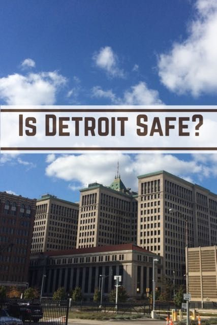Is Detroit safe? With well above average crime statistics and no end of scare stories in the media, read what it's really like in Detroit for tourists.