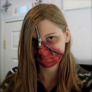 instructable (with video) - Zipper Face Tutorial Redux