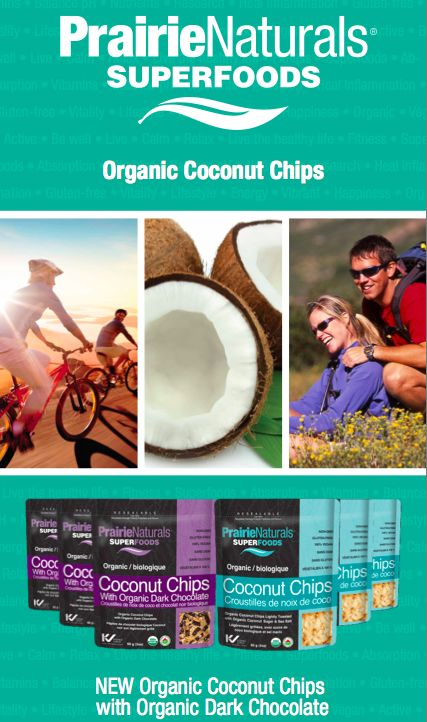 Superfoods! Organic Coconut Chips.