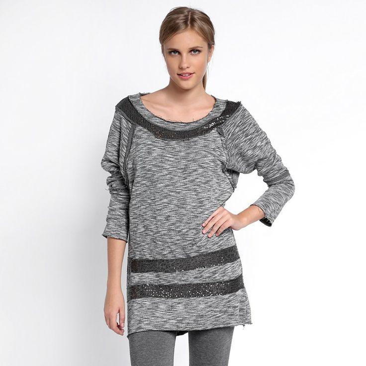 Autumn/Winter 2014 | FULLAHSUGAH KNITTED SEQUIN TUNIC DRESS | €34.90 | 3422101820 | http://fullahsugah.gr