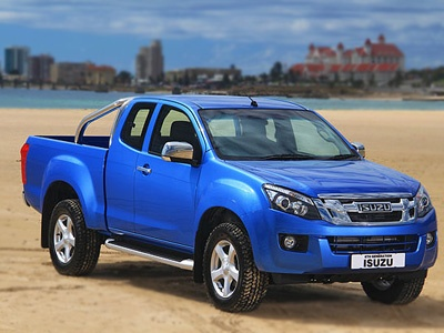 The new Isuzu KB - a bakkie tailored for real tough South...