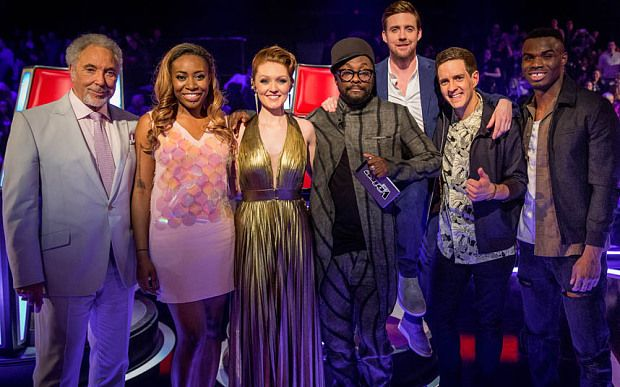 The Voice UK 2015: finalists