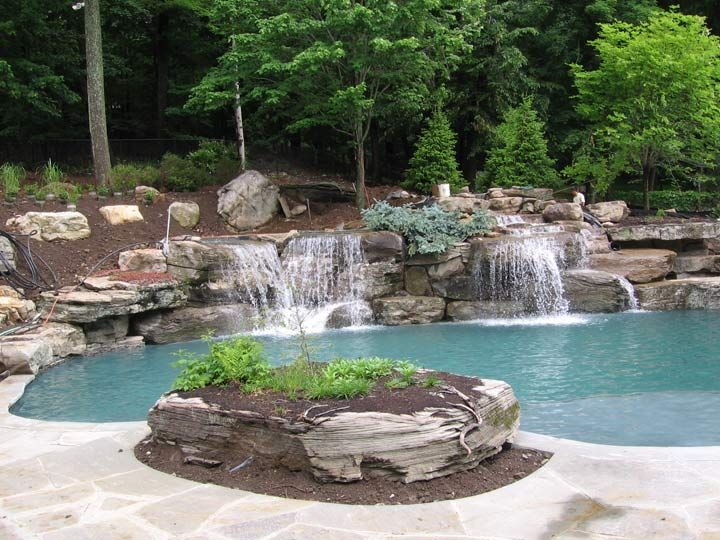 170 best boulders outcroppings images on pinterest for Pool design layout