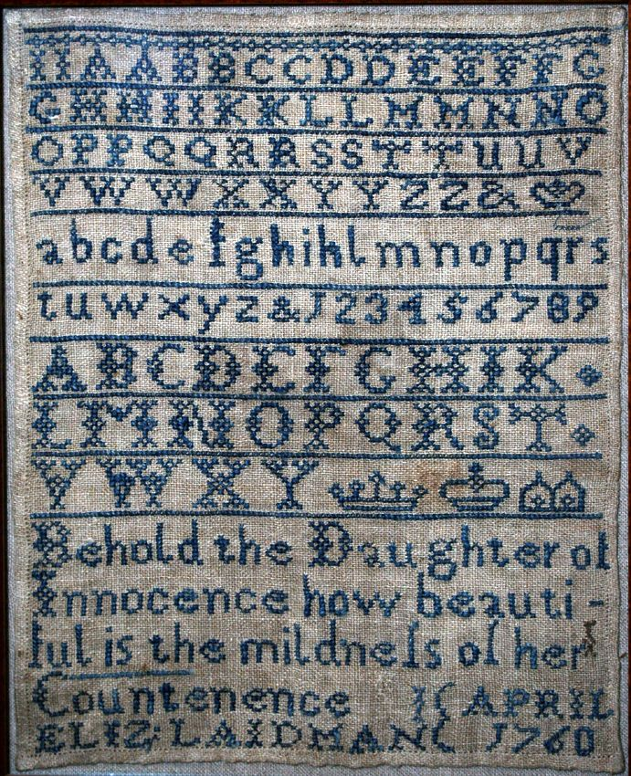 Antique English Embroidery--- Centuries Of Excellence