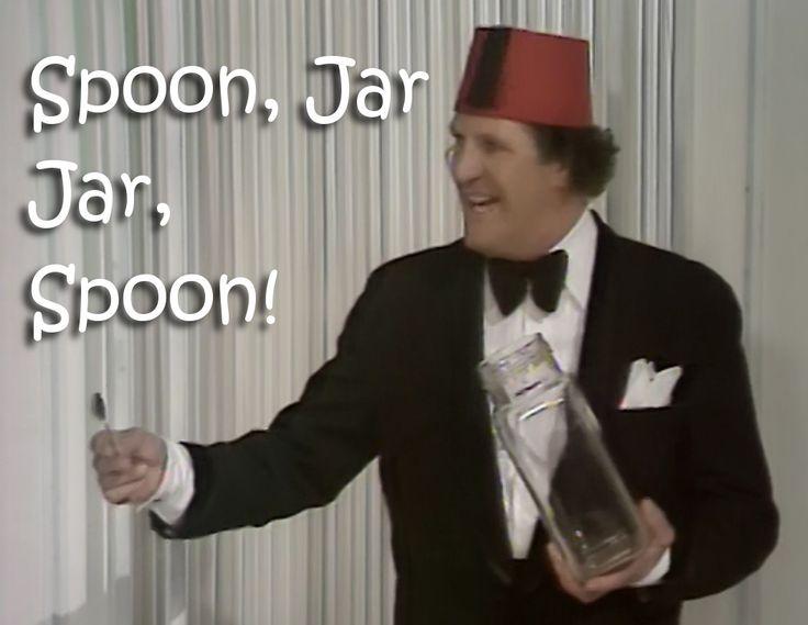 Tommy Cooper, Spoon Jar