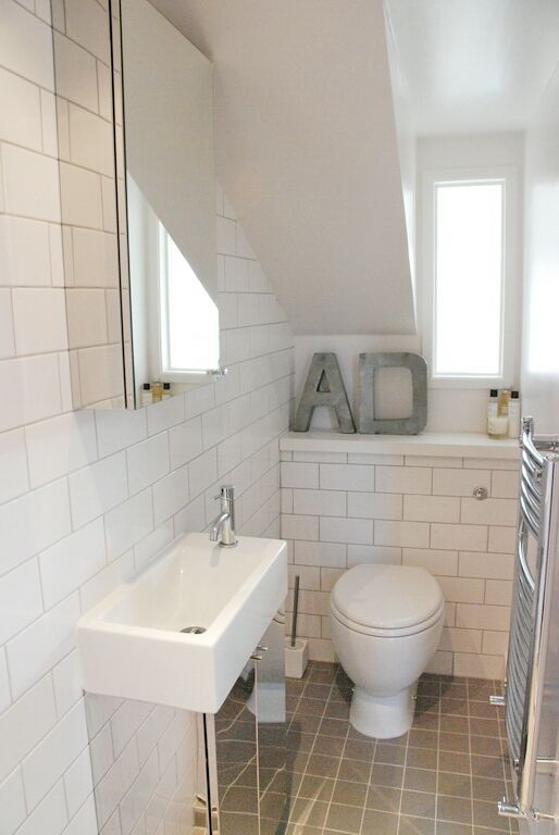 loft bathroom - Small Shower Room Ideas