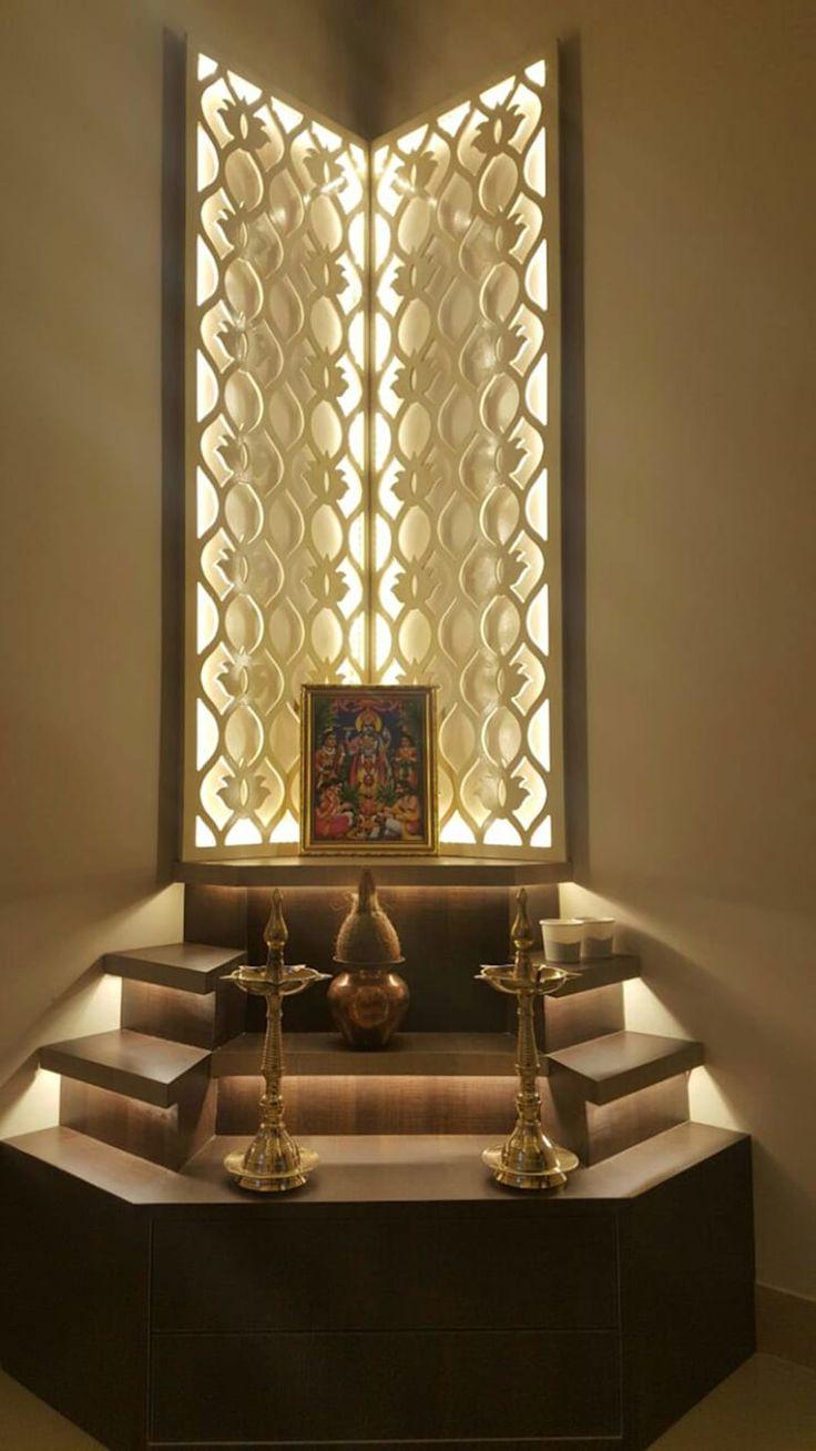 Pooja Room Designs By The KariGhars