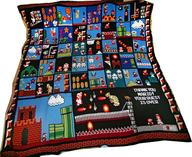 Ravelry: Sylvai's Super Mario Bros. Blanket