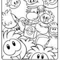 club penguin coloring pages ninja - Club Penguin Coloring Pages Ninja