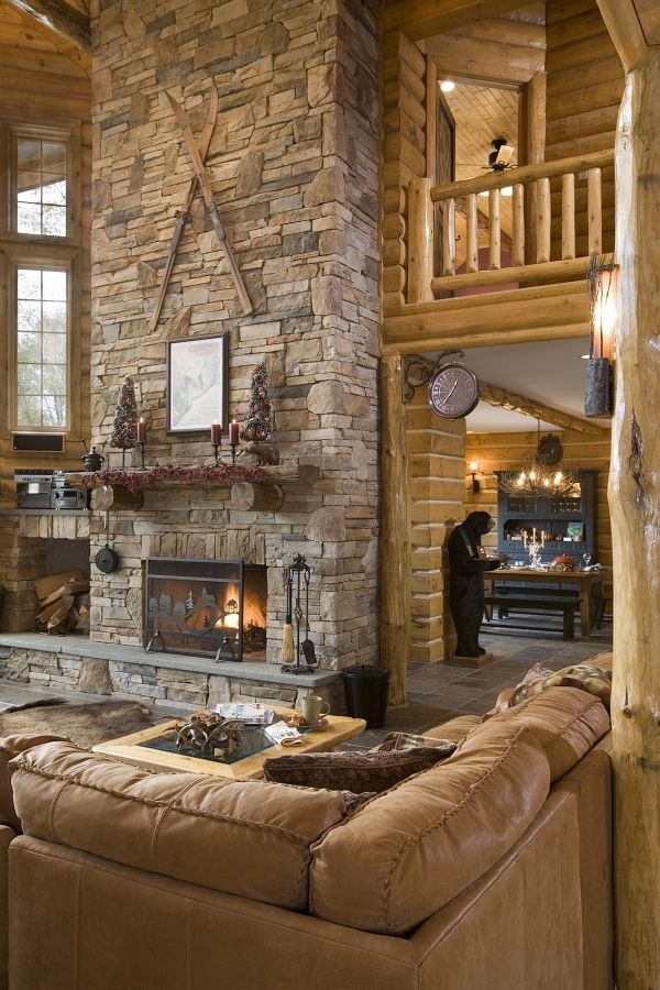 17 Best ideas about Log Home Bedroom on Pinterest | Log ...