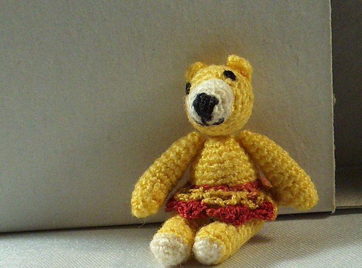 Crochet Bear door MiniMadeCraft op Etsy