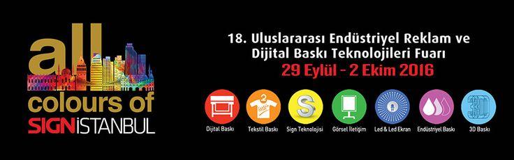 SIGN Istanbul (September 29 - October 2, 2016)