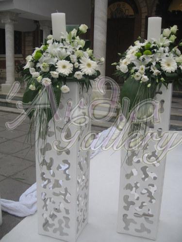 Ornate Lambades for a Greek wedding