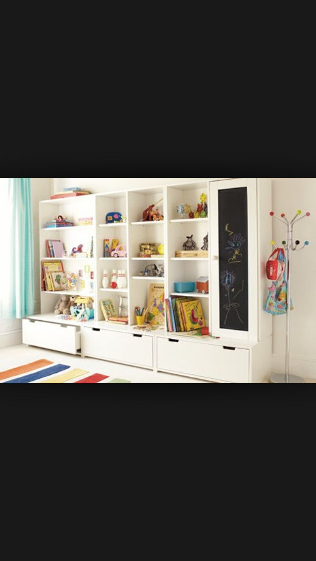 Rumpus storage - bit tall though for little ones